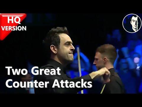 Ronnie O'Sullivan vs Judd Trump | Two Counter Attacks (Re-edited) | 2019 Tour Championship - Snooker