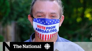 The push to get Americans in Canada to vote in 2020 election