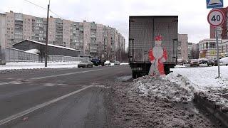 Снежные преграды ...Это кому то надо !!!