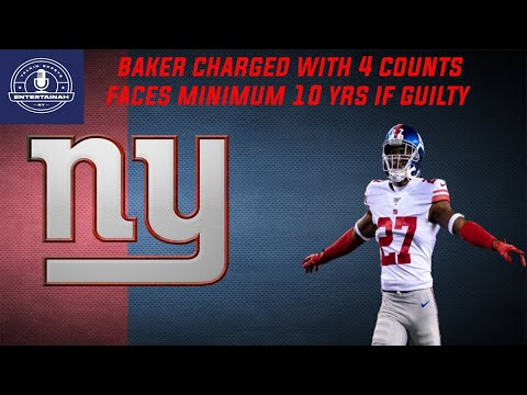 New York Giants | Deandre Baker charged w/ 4 counts of robbery! | Who will replace him?