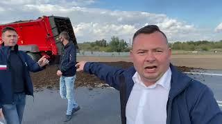 Protest rolników, nie zgadzają się z 5 Kaczyńskiego.