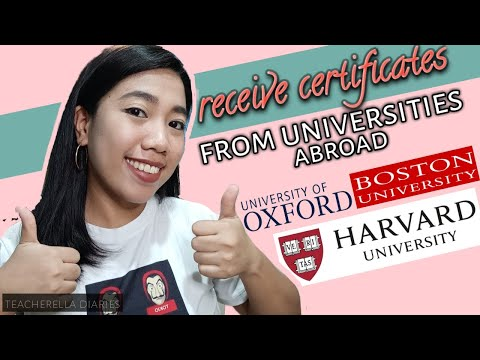 Free Online Courses offered by Harvard, Boston, Oxford and other Universities | OPEN FOR ALL