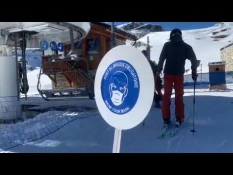 Covid-19:Ξανανοίγουν τα χιονοδρομικά κέντρα στη Γαλλία