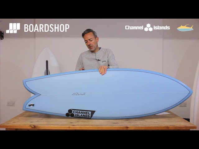 Channel Islands Fish Surfboard Review