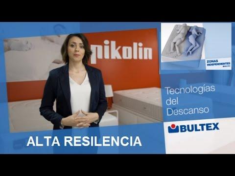 Bultex, el colchón de espuma de alta resiliencia más avanzado. Pikolin