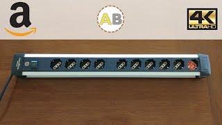 Brennenstuhl Premium Alu-Line 10 sockets Power Strip w/ overload protection - 4K Review