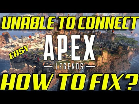APEX LEGENDS | HOW TO FIX UNABLE TO CONNECT TO EA SERVERS ERROR + CRASH | EASY METHOD 100 % WORKING