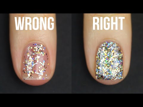 , title : 'HOW TO APPLY GLITTER NAIL POLISH || KELLI MARISSA'