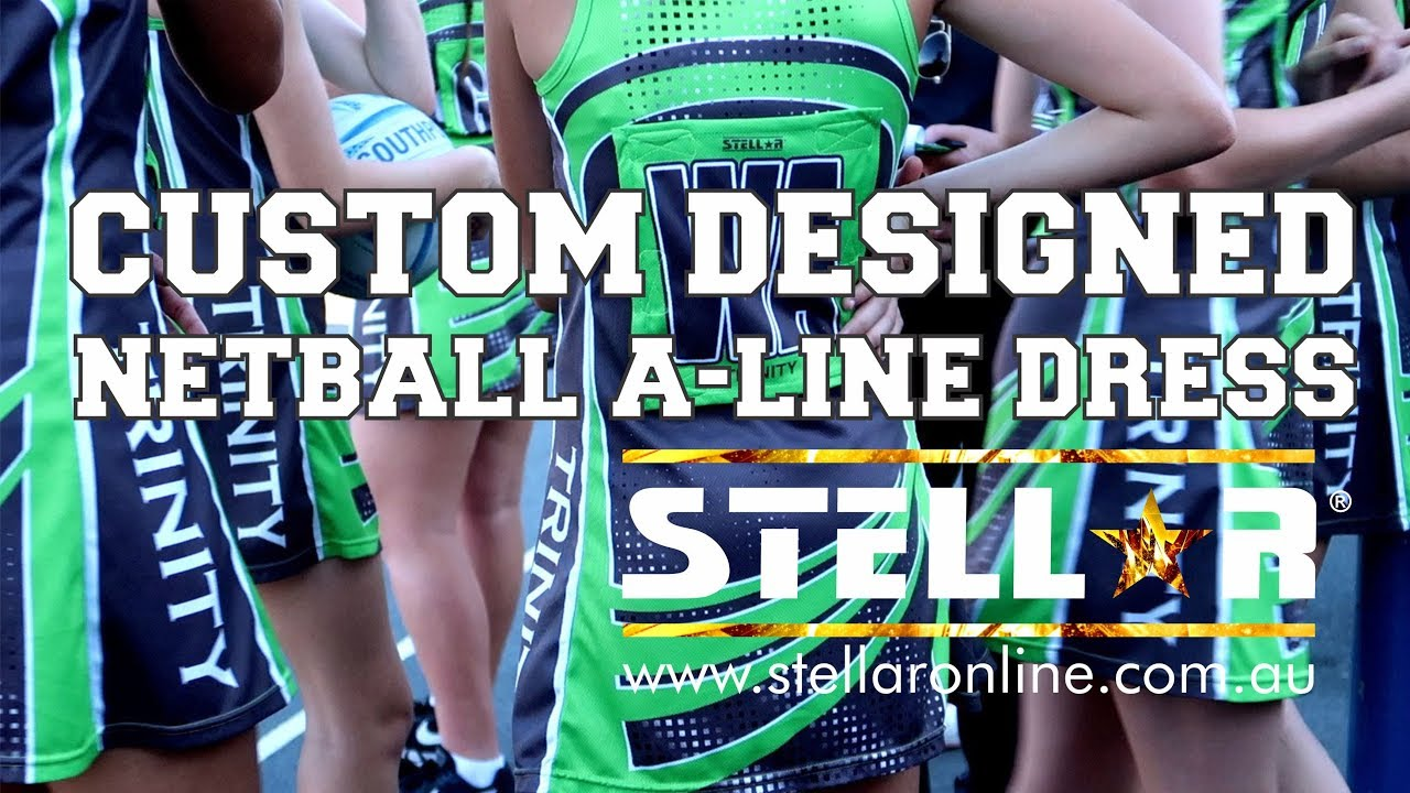 Custom Designed Netball A-Line Dress