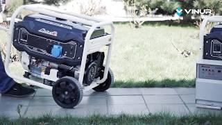 Обзор бензинового генератора 8 кВт Matari MX11000E