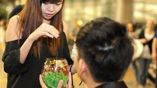 Surprise Wedding Proposal at Changi Airport (Ivan & Xue Yi)