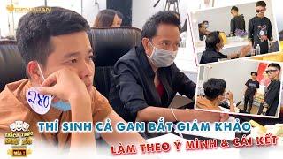 Thách thức danh hài mùa 7 | Thí sinh bắt 2 giáo khảo Bảo Chung, Khương Dừa làm theo ý mình & cái kết