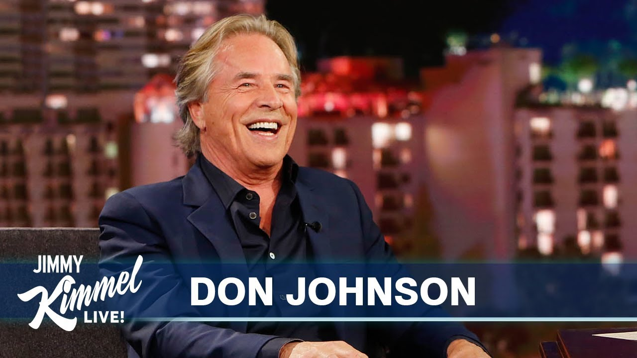 Don Johnson Got Stiffed by Donald Trump - Jimmy Kimmel