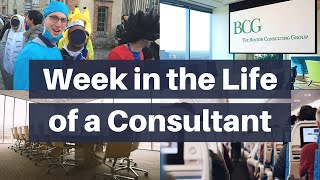 Week in the Life of a Consultant at McKinsey - Work of a Management Consultant