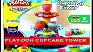 Play Doh Cupcake Tower Sweet Shoppe Set Unboxing Toys For Girls