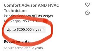 HVAC Technician Salary | Hourly/Commission? 💰