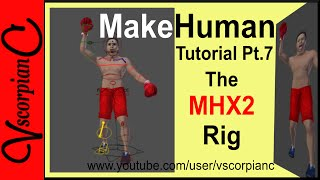 how to import MakeHuman advanced rig in Blender - Free video search