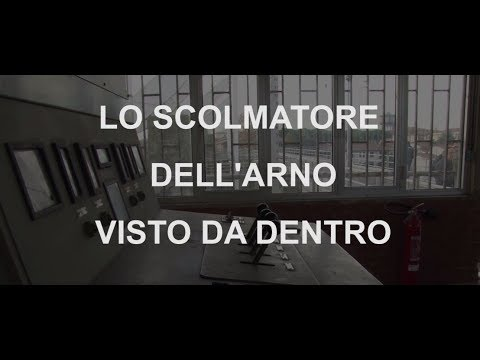 Lo scolmatore d'Arno visto da dentro (video di René Pierotti)