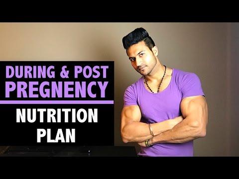 During & Post PREGNENCY Nutrition Plan for WOMEN by Guru Mann