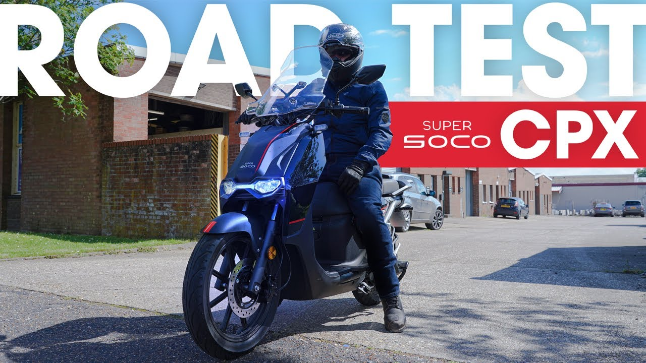Super Soco CPx | Road Test Review!