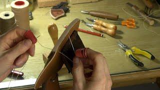 How to Saddle Stitch Leather (MM Mondays)