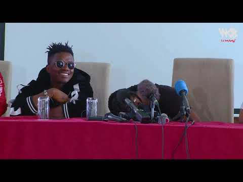 Diamond Platnumz -   call from Tanashadonna ( Press Conference Nairobi)