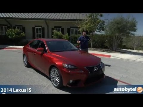 2014 Lexus IS Video Car Review