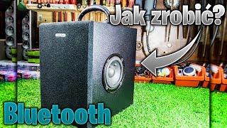 Jak zrobić GŁOŚNIK Bluetooth BoomBox Z MEGA BASEM! *z drewna!* 40Wat