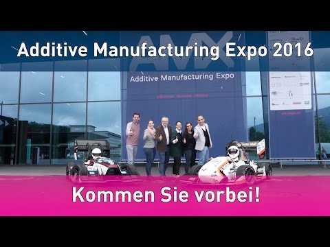 GBN Systems Videonews - Heißes Presse Racing zur Additive Manufacturing Expo in Luzern