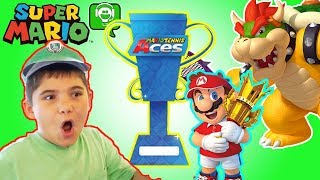 MARIO TENNIS ACES! Nintendo Skit and Gameplay by HobbyGaming