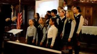 preview picture of video 'The Grosse Pointe Academy School Choir'
