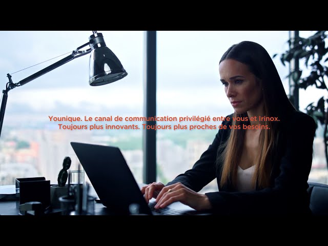 Younique   La plateforme d'interaction créée par Irinox  pour ses clients