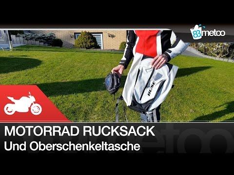 Wasserdichter Motorrad Rucksack und Oberschenkeltasche von Büse - 83metoo