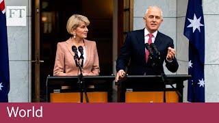 Malcolm Turnbull wins leadership vote