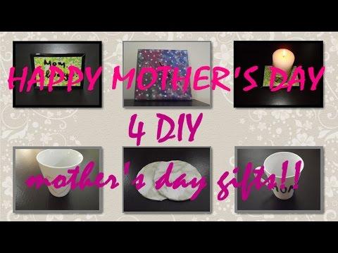 4 DIY δώρα για τη γιορτή της μητέρας