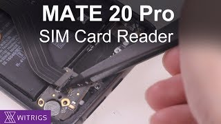 HUAWEI Mate 20 Pro SIM Card reader Replacement | Repair Guide