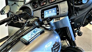 2019 Harley-Davidson GTS Infotainment System With Apple Car Play First Look And Tutorial