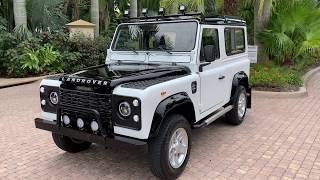 1990 Land Rover Defender 90 Diesel Import FOR SALE