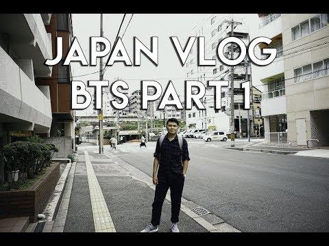 Japan vlog 1 BTS