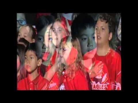 NHL National Anthem Queen Creek Elementary School