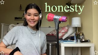 Honesty Pink Sweat$ Cover