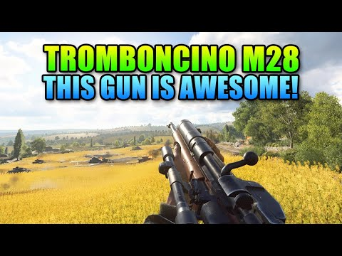 This Gun Is Awesome! - M28 Con Tromboncino Review | Battlefield V
