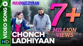 Amidst the snow-capped mountains, Robbie, Rumi and Vicky experience love, longing and heartbreak. #ChonchLadhiyaan is an original track from #Manmarziyaan.  Singers: Harshdeep Kaur & Jazim Sharma Music: Amit Trivedi Lyrics: Shellee Produced & Arranged By: Amit Trivedi Recording Engineers A T Studios  Mumbai  - Abhishek Sortey & Urmila Sutar  Assisted By: Firoz Shaikh Mixed & Mastered By: Shadab Rayeen,  A T Studios & New Edge - Mumbai Assisted By: Abhishek Sortey & Dhananjay Khapekar Executive Producer: A T Studios - Krutee Trivedi Head Of Production: A T Studios - Aashish Narula Programmed By: Amit Trivedi & Gourab Dutta Guitar By: Ridu Shaw Israj By Arshad Khan Dholak & Percussions By: Satyajit Jamsandekar  Movie: Manmarziyaan Cast: Abhishek Bachchan, Taapsee Pannu & Vicky Kaushal Directed By: Anurag Kashyap Produced By: Aanand L Rai & Phantom Films  For Callertunes Dial:  Airtel - 5432116568810 Vodafone - 53710607735 Idea - 5678910607735 BSNL (South/East) - SMS BT 10607735 to 56700  Play Free Music back to back only on Eros Now - https://goo.gl/BEX4zD  For all the updates on our movies and more: https://www.youtube.com/ErosNow https://twitter.com/#!/ErosNow https://www.facebook.com/ErosNow https://www.facebook.com/erosmusicindia https://plus.google.com/+erosentertainment https://www.instagram.com/erosnow