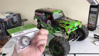 HD GEARS In The AXIAL SMT10 | Bevel Gear Upgrade | Overkill RC