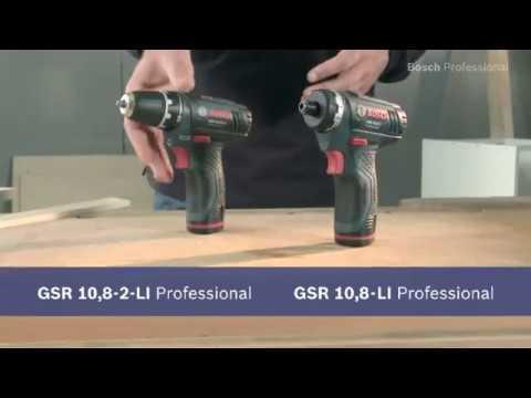 Bosch GSR10,8-2-LI accu schroefboormachine