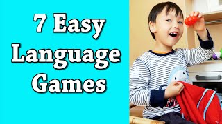 7 Easy Language Games/Activities For Kids: How I Teach My Children To Speak Any Language