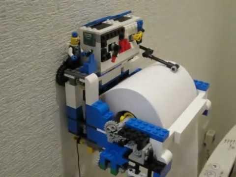 0 【動画】レゴ+タコメーター+トイレ