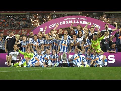 La Real Sociedad estrena palmarés tras ganar la Copa de la Reina