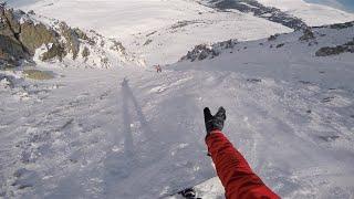 preview picture of video 'Pas de la Casa 2015 Off-piste GoPro Hero 4 | snowboarding'