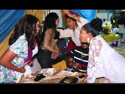 Bidemi &Sola Kosoko welcome Bukola Adeeyo &other Actress to her baby naming ceremony